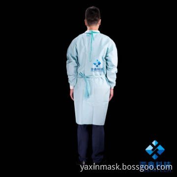 Light blue surgical suit