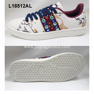 lady skateboard sport shoes