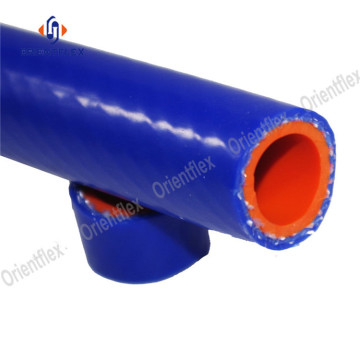 High pressure flexible auto silicone heater hose