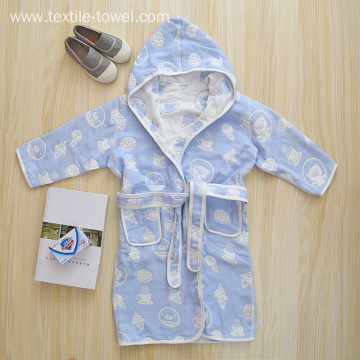 100% Cotton Children Robe