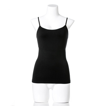 OEM seamless lady camisole slimming body shaper vest