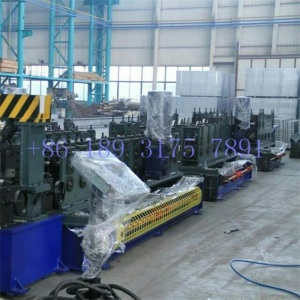 Ladder type cable tray roll forming production line