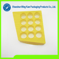 chocolate tray product packed by customized Food grade plastic golden chocolate variform tray