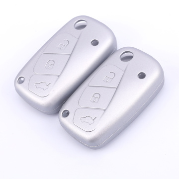 3 Buttons Silicone Car Key Cover Domin Fiat