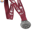 Made best price of silver metal award medals