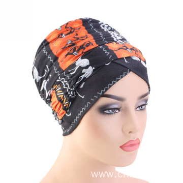 Headwrap bandanas hat crochet for cancer patients