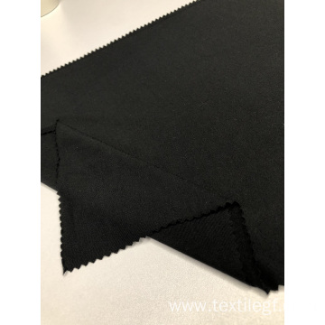 Rayon Spandex Black Jersey Knitted Fabric