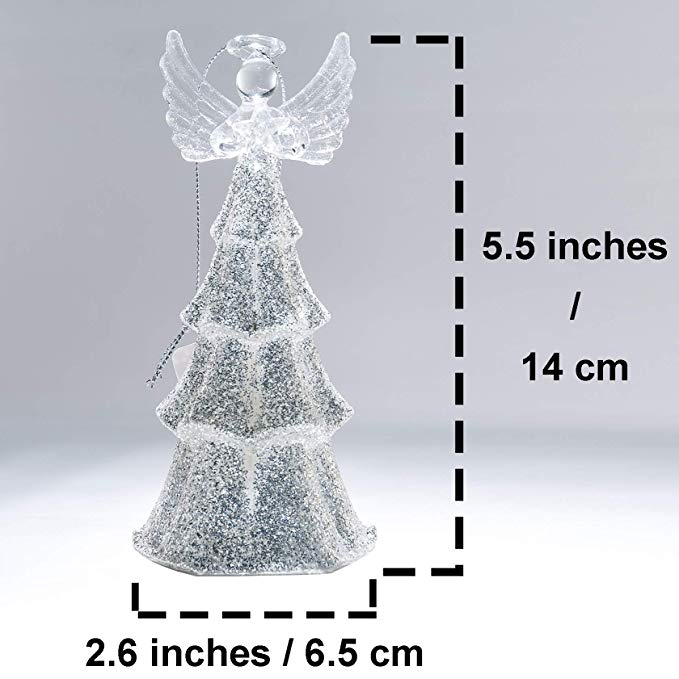 Glass Angel Size
