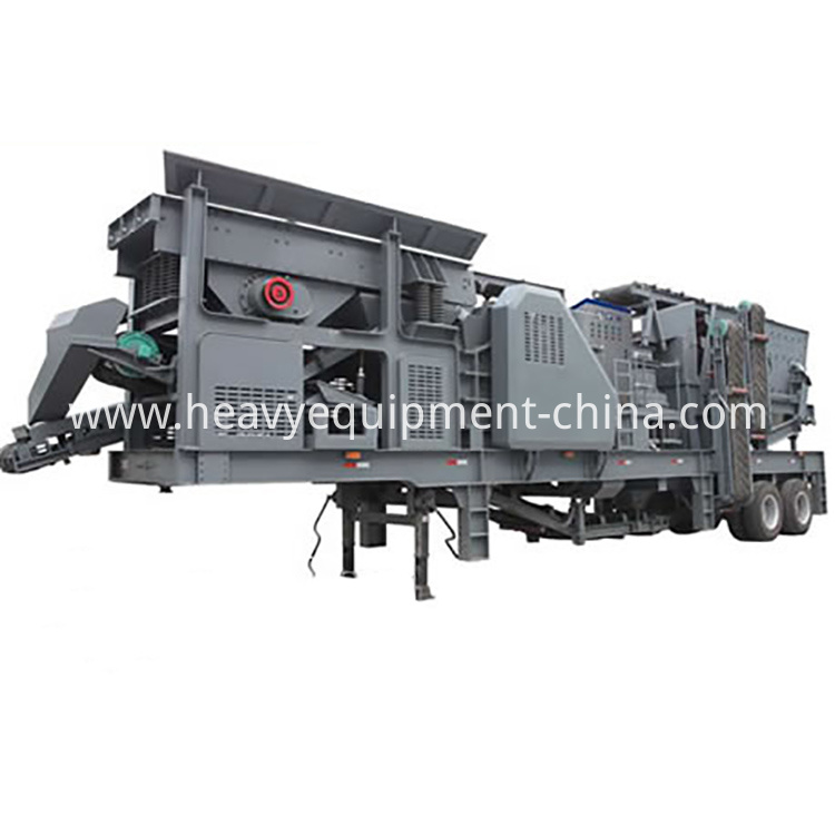 Mobile Impact Crusher Plant