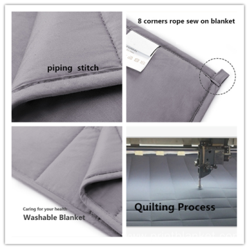 wholesale blanket weighted quilting 6.8 kg blanket