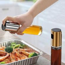 BBQ Baking Oil Spray Bottle Kitchen Cook Oil Dispenser Vinegar Bottle Water Pump Gravy Boats Cooking Tool