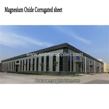 Anti-corrosion UV-Blocking Aluminium Foil MgO Roof Sheet