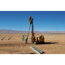 Guardrail Pile Driver Machine On Sale