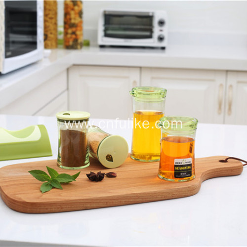 4pcs Oil Pots Set For Spice Salt-pot