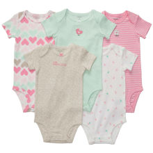 Top-quality Cotton infant padding baby clothes 5 sets