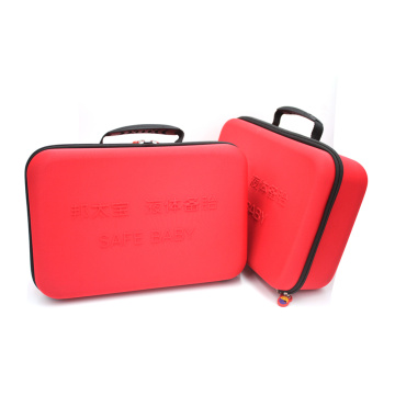 Manufacturer portable safety rubber handle eva tool case for car