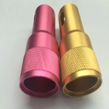 Aluminum Led Electric Torch Shell Body Parts