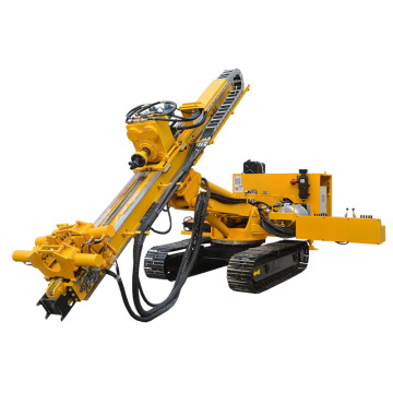 Integrated Air compressor Crawler Mining Rock Drill Machine