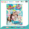 DISNEY SOY LUNA blister card mini notebook