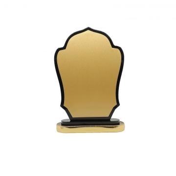 middle east country luxury wooden trophy