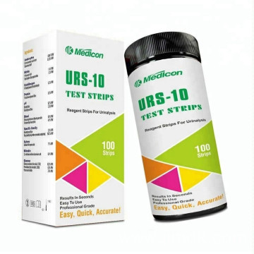 MDK URS-10 Reagent Strips For Urinalysis