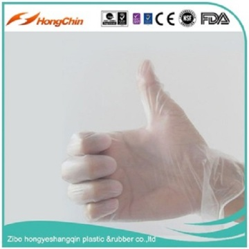 pvc vinyl plastic food examination working safety gloves