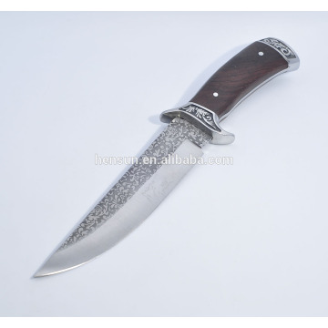Collection knife etch fixed lade Hunting Knife