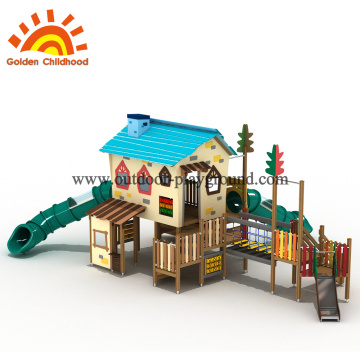 Outdoor playground slide equipment parts