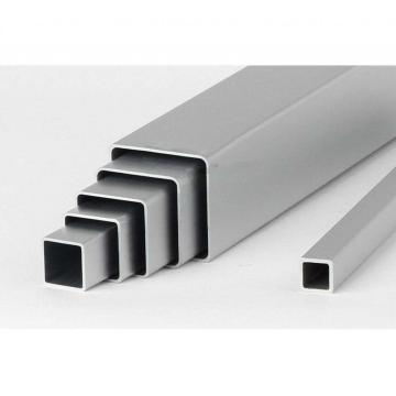 Aluminium extrusion square tube 7075 T6