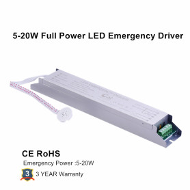 LED T8 tube 25W 100% Output Emergency Kit