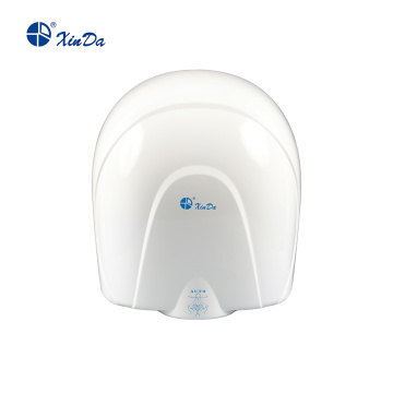 Round nozzle hand dryer for hotel