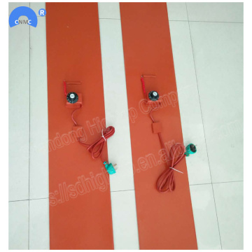 200*1740mm 2kw Silicone Rubber Drum Heating Belt