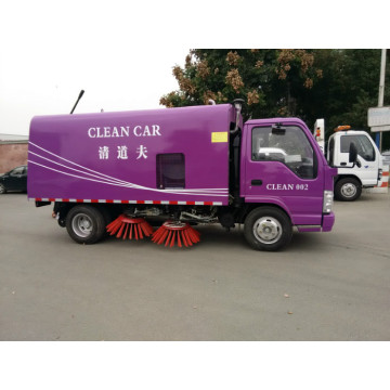 Street Road Highway Airport Vacuum Road Cleaning Truck