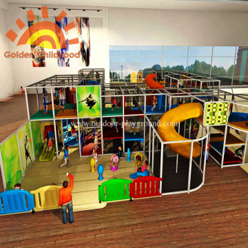 Large Indoor Playground Structures Equipment