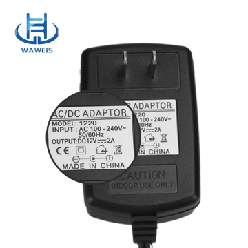 Wall plug 12v 1a ac dc power adapter