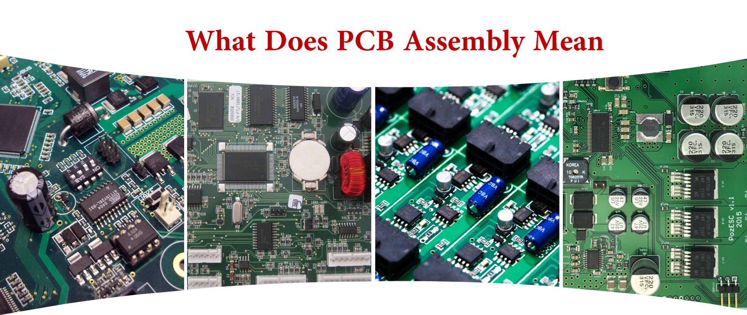 What Does PCB Assembly Mean