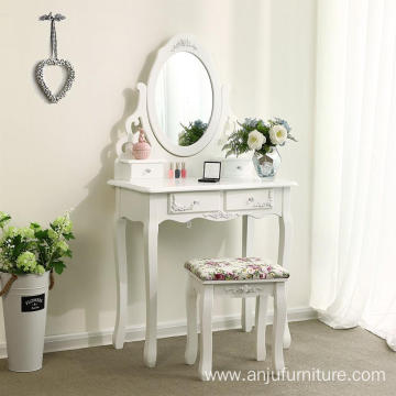 Exquisite girl's multi-functional dressing table