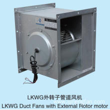 LKWG Duct Fans with External Rotor motor
