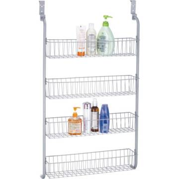 4 tier storage cart