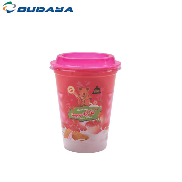 IML biscuits cup with lid