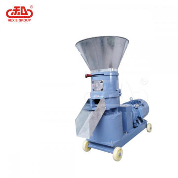 Process Different Diameter Flat Die Pellet Mill