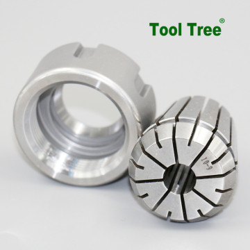 Tinggi akurasi 0.008mm ER32 65Mn Spring Collets