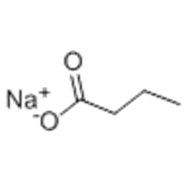 Butyrate de sodium CAS 156-54-7