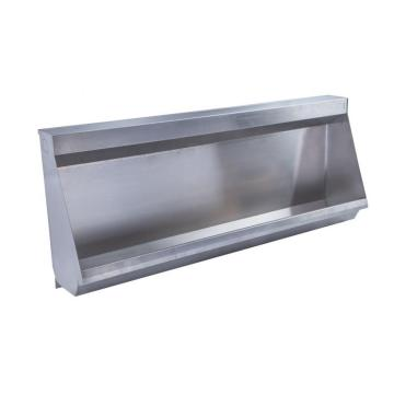 Stainless steel trough urinals
