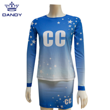 Youth Full Dye Sublimation Cheer Costome
