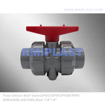 CPVC Double Union Ball Valve Thread End