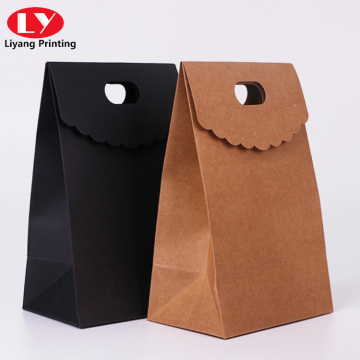 Simple style customized shopping paper bag