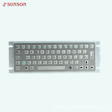 Industrial Anti-riot Keyboard for Information Kiosk