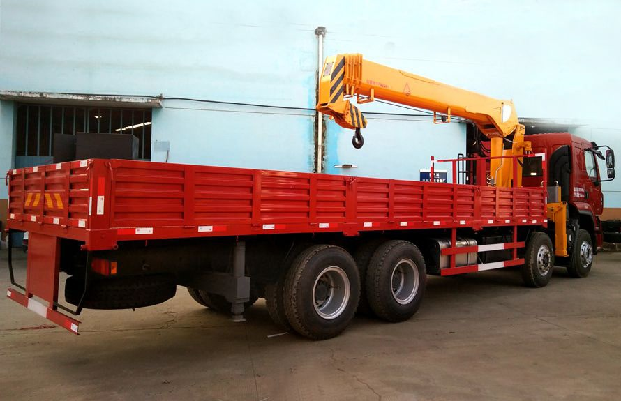 manual truck mounted crane 4