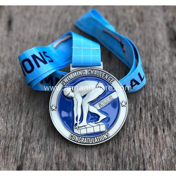 Custom 2020 Zinc Alloy Swimming Sport Medal